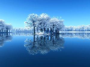 安卓风景 冰天雪地 下雪了手机壁纸