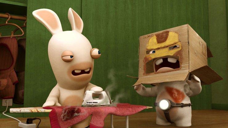 安卓动漫 插画 3d 疯狂的兔子 搞笑手机壁纸