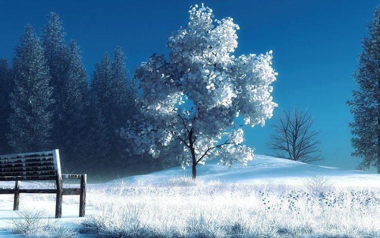 安卓风景 冰天雪地手机壁纸