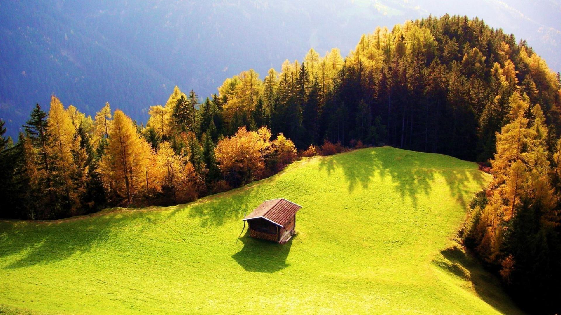 android安卓小屋 小房子 野外 风景 风光 美景 旅游