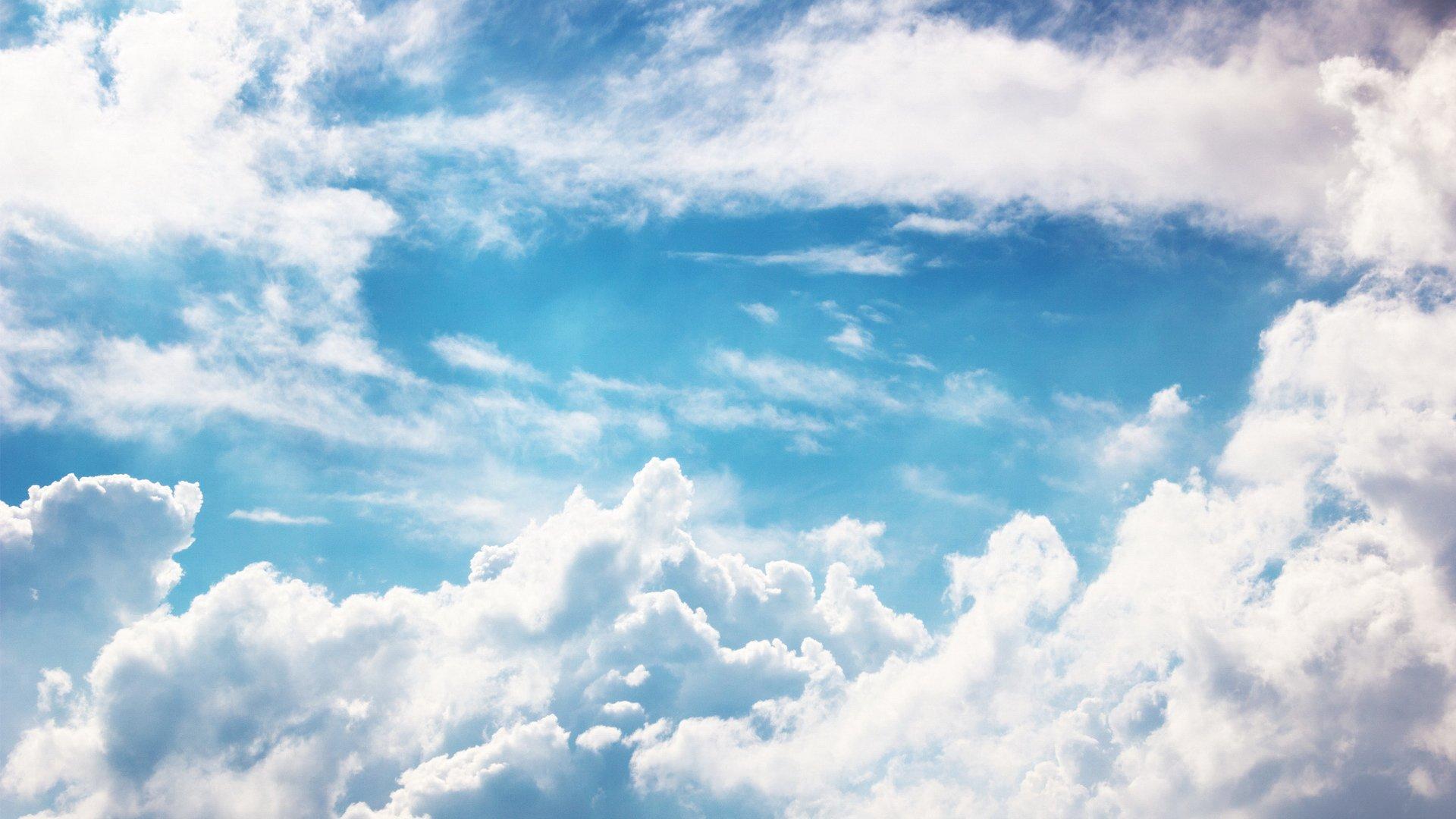 android安卓风景蓝天白云高清手机壁纸免费下载安心