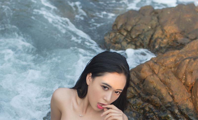 TuiGirl推女郎黄可三亚礁石摄影写真专辑-写真-『游乐宫』Youlegong.com
