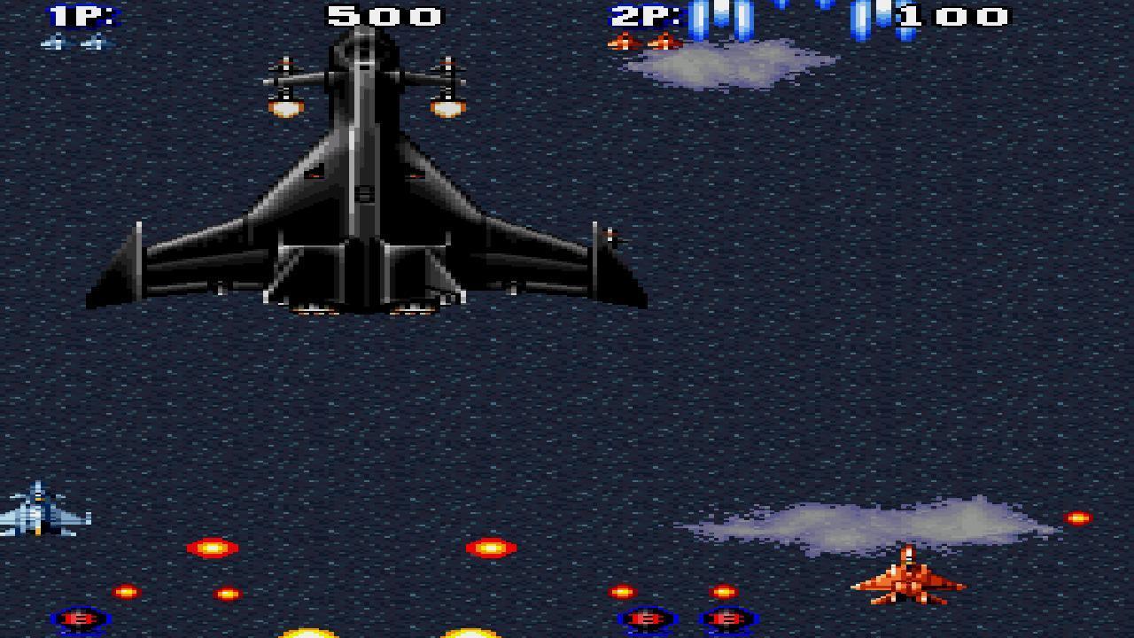 著名的飞机游戏音速战机的第一代!