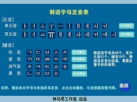 >韩语打字练习