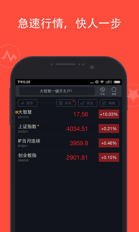 大智慧手机炒股票软件截图2