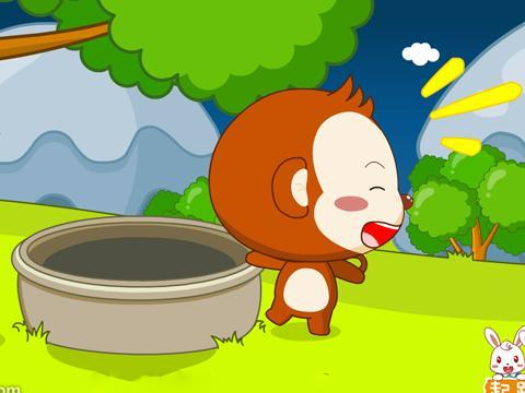 猴子在树上摘桃简笔画吊在树上的猴子简笔画猴子