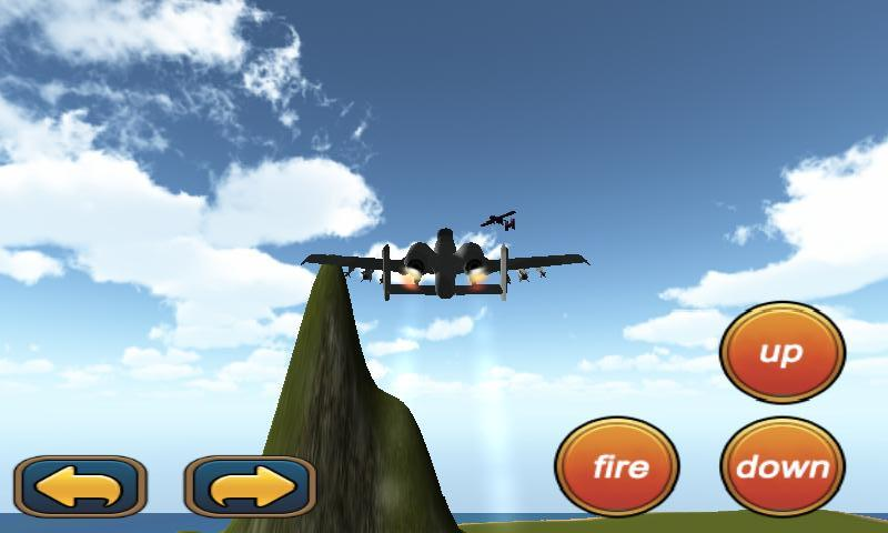 3D模拟飞机是一款不错的模拟飞行射击类的游戏。本款游戏的亮点在于采取了虚拟现实技术,戴上VR眼镜,你可以体会到极为真实震撼的空战效果。空战场景选定了一个海洋中的小岛上,驾驶你的战机,击毁所有你遇到的敌机,你就取得了战争的胜利。游戏的玩法并不单一,分为VR模式和普通模式,即便没有VR设备,也可以进行游戏,效果也相当不错哦! 游戏玩法: 1)VR模式下,通过手柄进行操作,手柄的方向键控制战机的方向,手臂给你的X键进行射击。 2)普通模式下,通过虚拟按键进行操作。 游戏特点: 1)游戏分为VR模式和普通模式,在