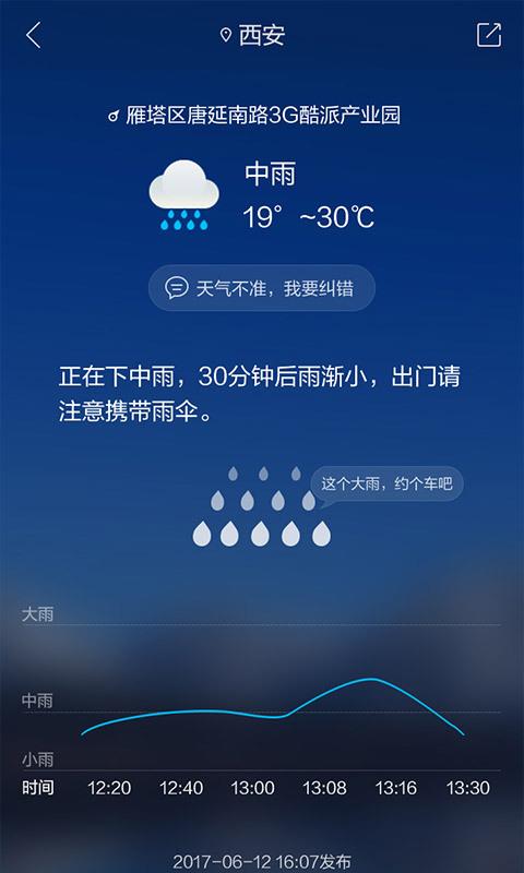 最美天气安卓版高清截图