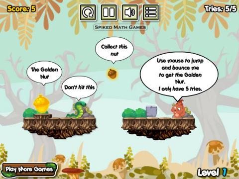 音乐游戏《小松鼠吃松果》