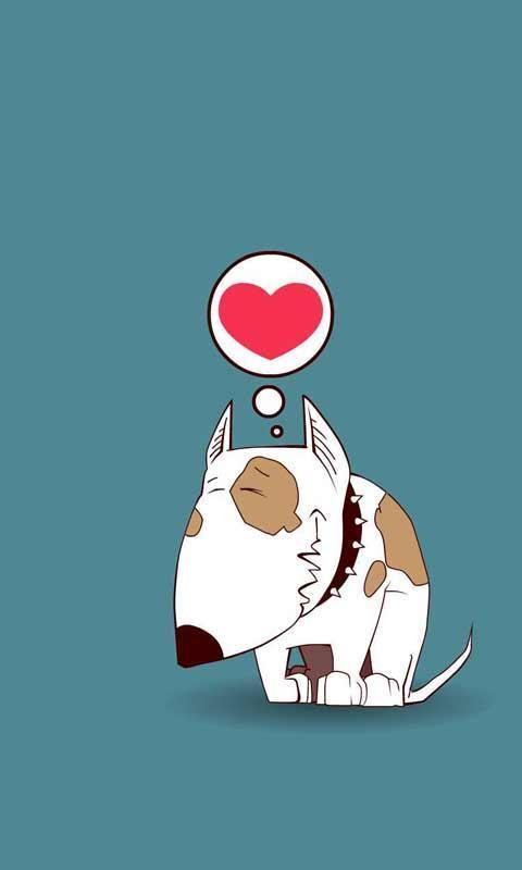 壁纸主题 >卡通小狗动画动态锁屏壁纸