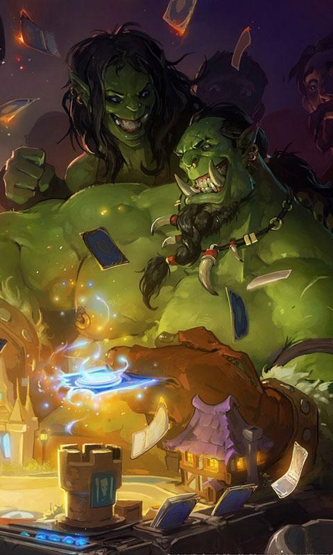 炉石传说魔兽世界-3d桌面壁纸 1.