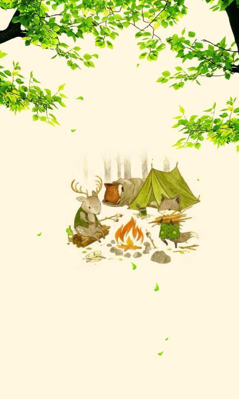 小动物的日常-绿豆动态壁纸