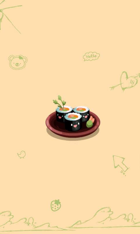 可爱寿司-动态壁纸