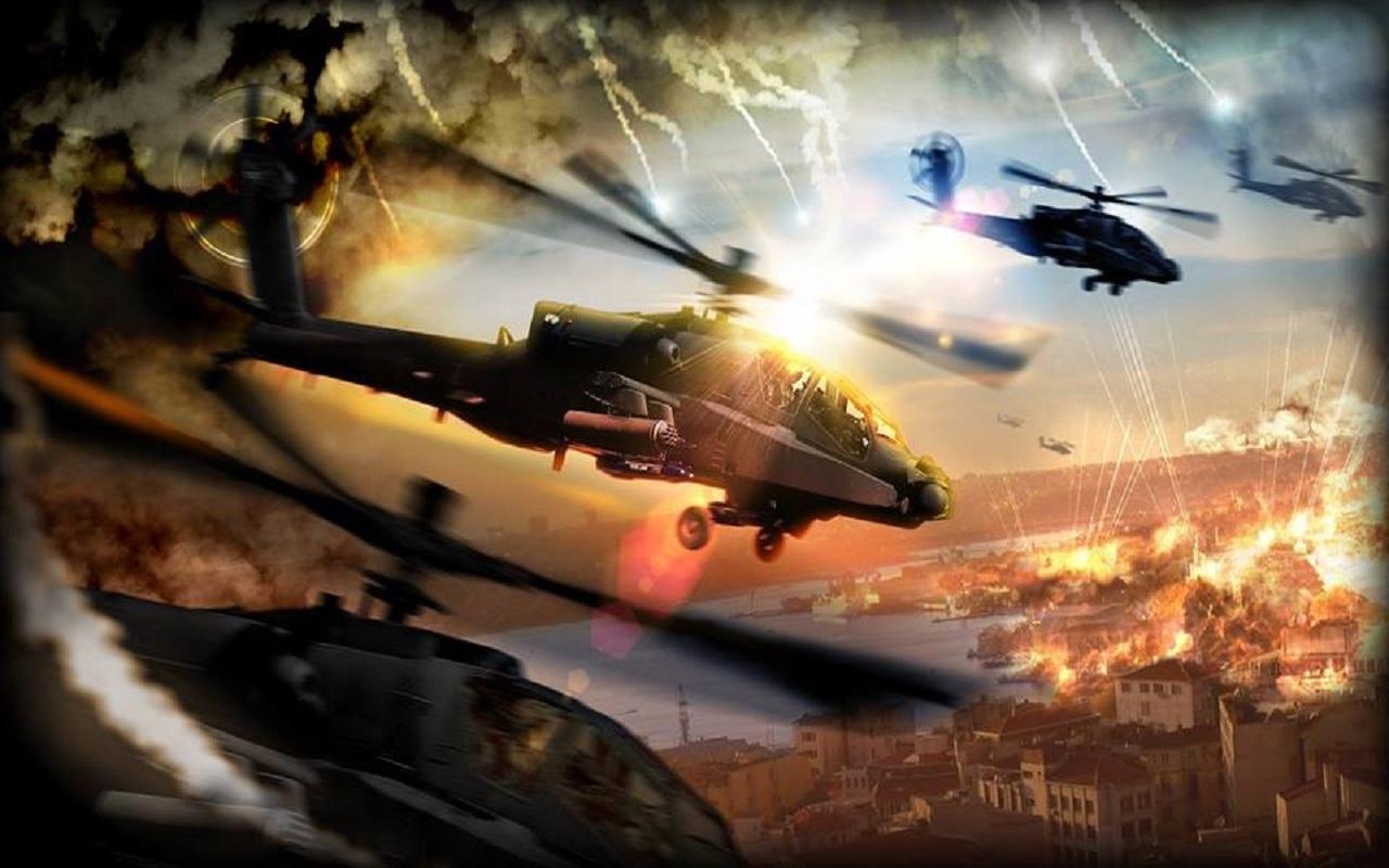 chaos直升机空战游戏截图