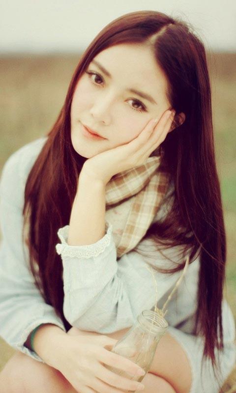 美美的笑容女生高清动态壁纸